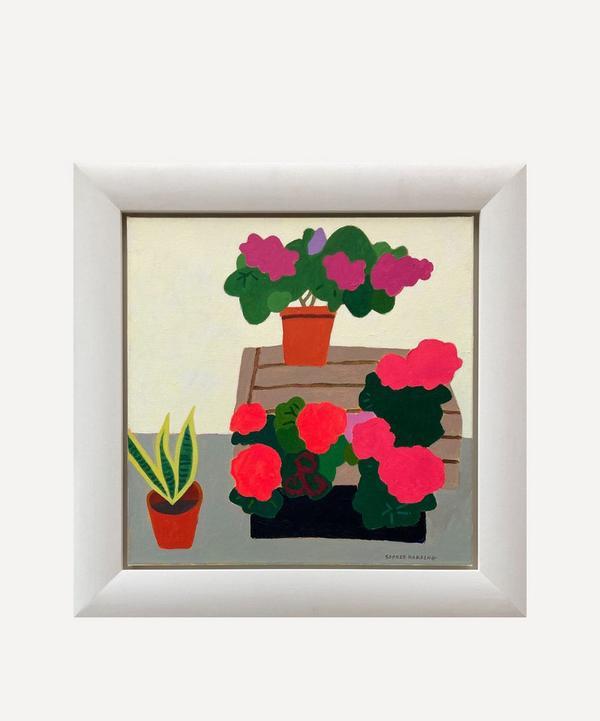 Sophie Harding - Flowers at the Florist Original Framed Painting