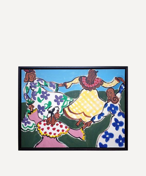 Willemien Bardawil - La Danse de Provence Original Framed Painting