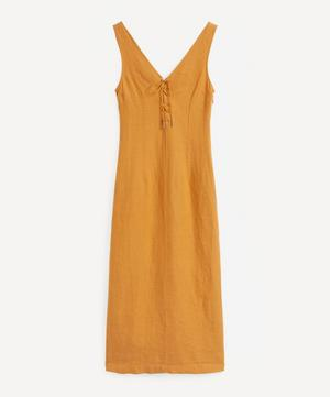 Emma Lace-Up Dress