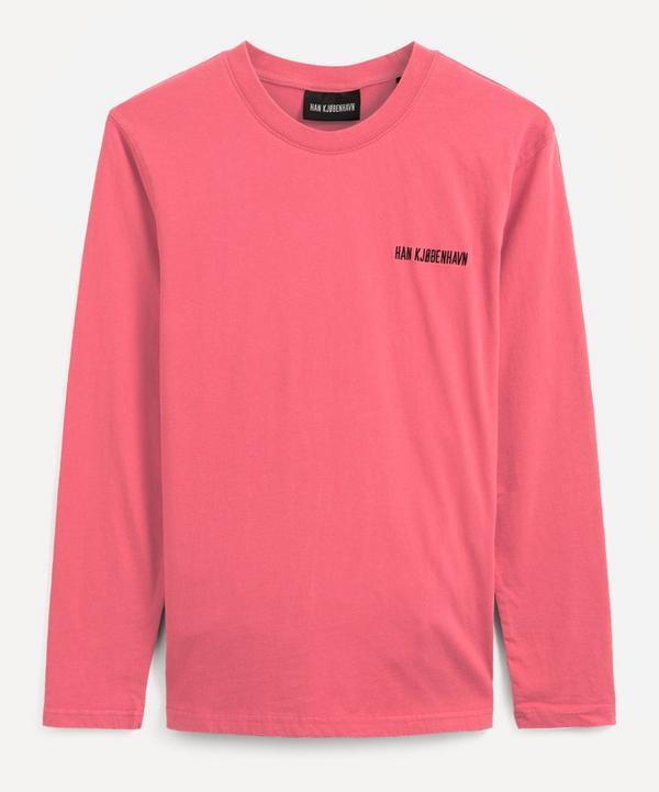Han Kjobenhavn - Casual Long-Sleeved Logo T-Shirt