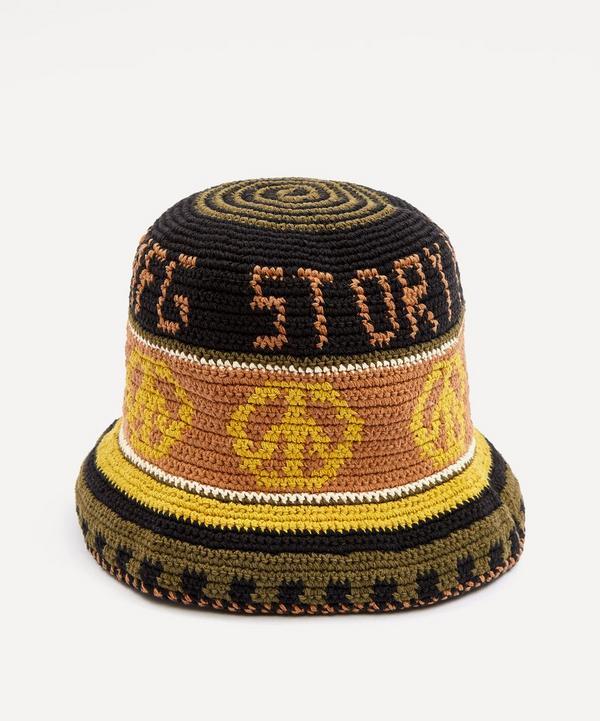 STORY mfg. - Brew Peace Power Hand Crochet Bucket Hat