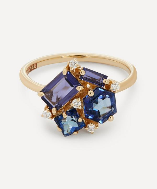 Suzanne Kalan - 14ct Gold Multi-Stone Cluster Ring