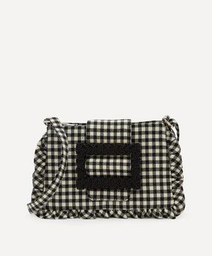 Charles Gingham Cross-Body Bag