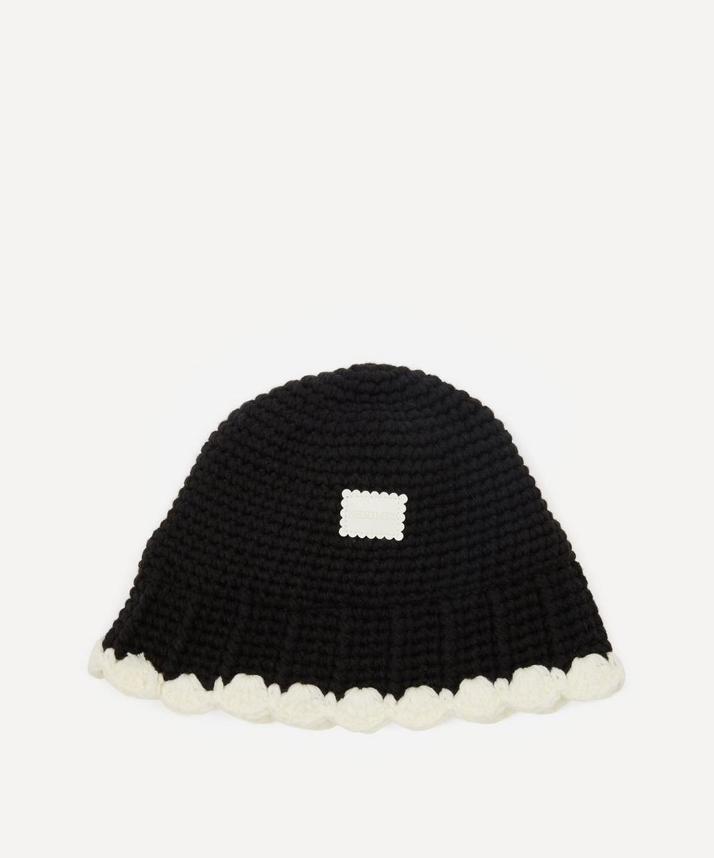 Shrimps - Nora Knitted Cotton Bucket Hat