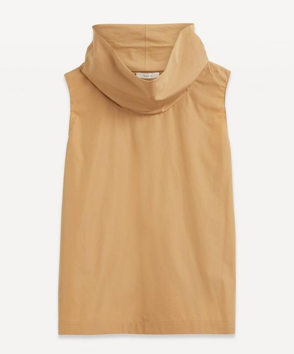 The Row - Galya Fine Cotton-Poplin Top