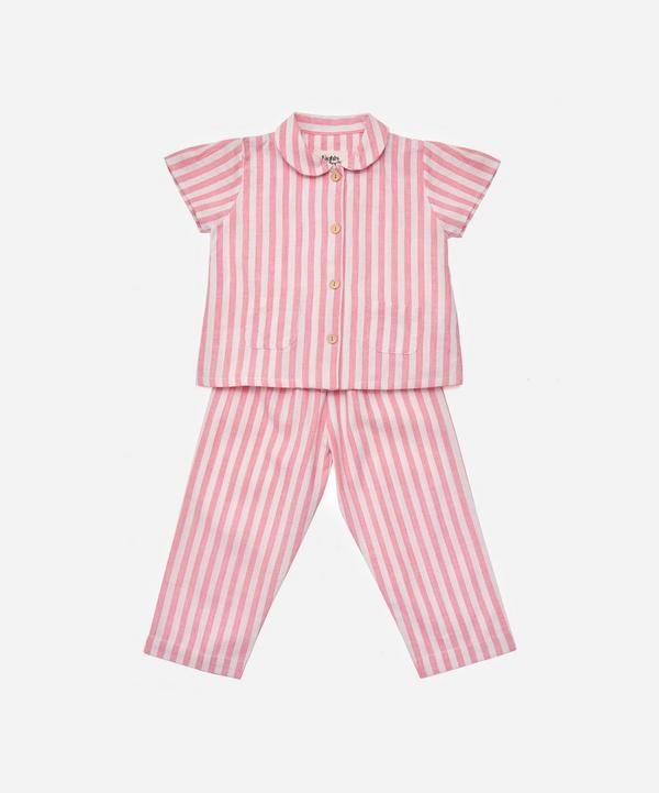 Nights by Wilder - Stevie Circus Stripe Pyjamas 2-8 Years