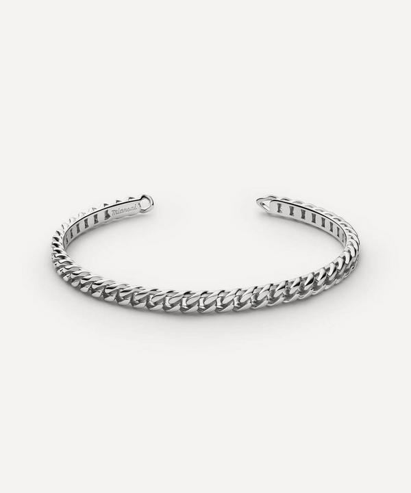 Miansai - Sterling Silver Cuban Link Cuff Bracelet