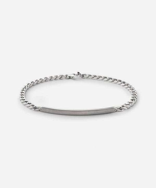 Miansai - Sterling Silver ID Chain Bracelet