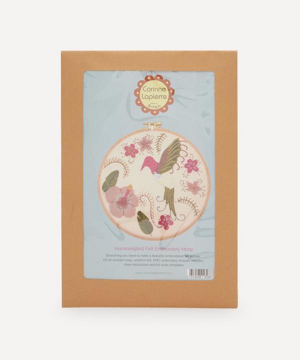 Corinne Lapierre - Felt Hummingbird Appliqué Hoop Kit