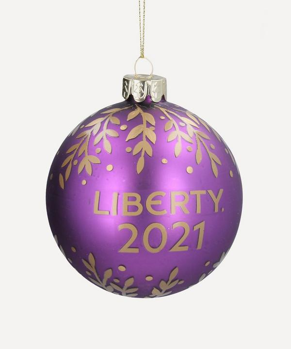 Unspecified - Liberty 2021 Glass Bauble