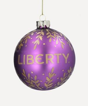 Liberty Glass Bauble