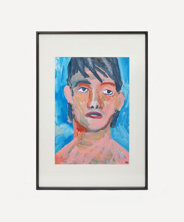 David Horgan - Hallucinating Arkansas Original Framed Painting