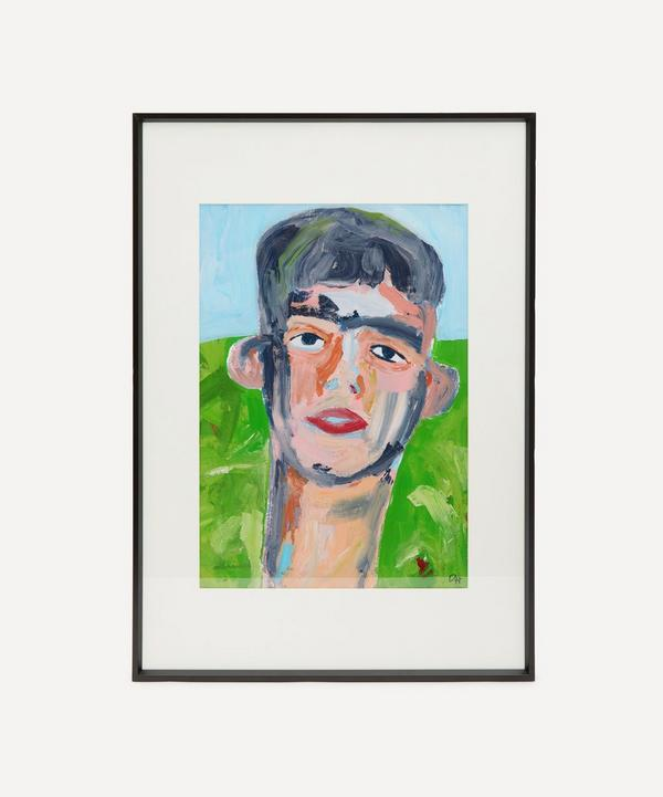 David Horgan - Derry Boy Original Framed Painting