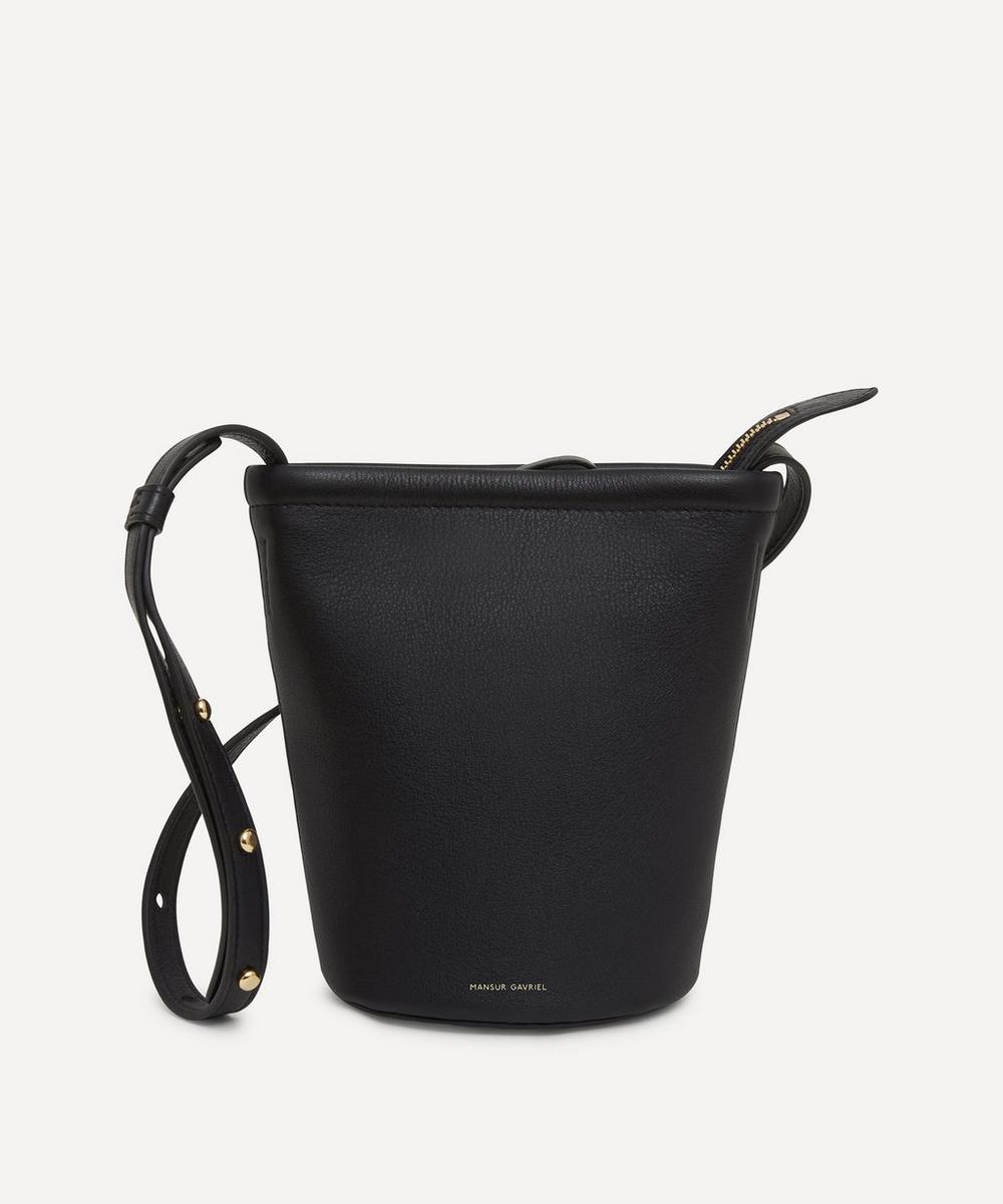 Mansur Gavriel - Mini Zip Leather Bucket Bag