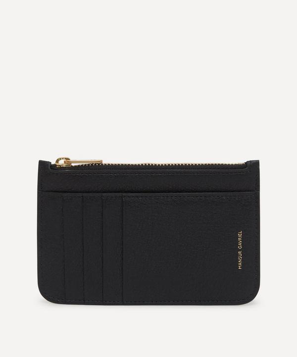 Mansur Gavriel - Leather Zip Card Holder