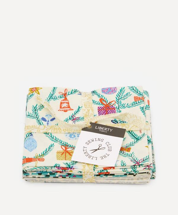 Liberty Fabrics - Christmas Lasenby Cotton Fat Quarters One Metre Bundle