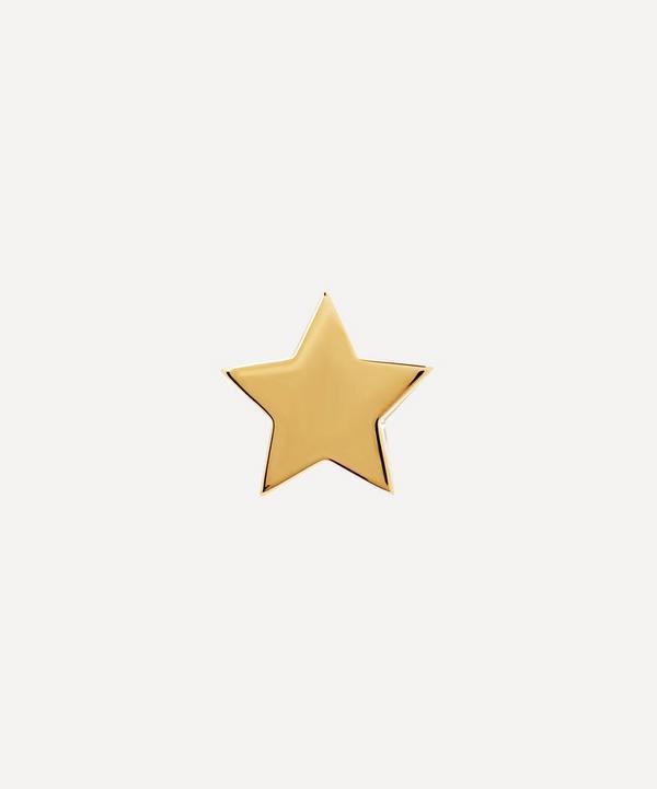 Andrea Fohrman - 14ct Gold Star Single Stud Earring