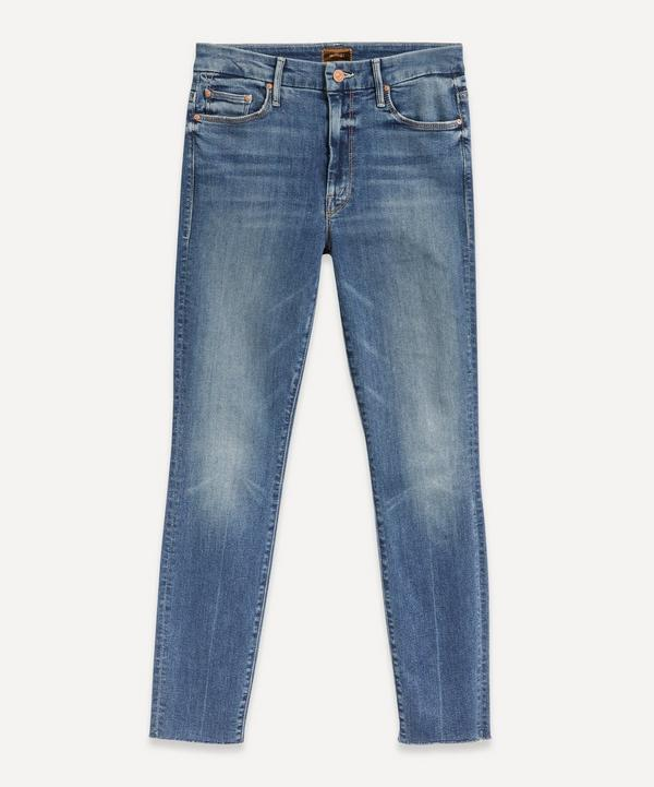 Mother - Looker High-Waist Ankle-Fray Jeans