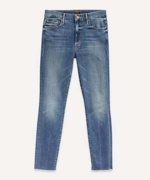 Looker High-Waist Ankle-Fray Jeans