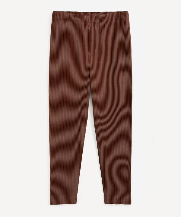 HOMME PLISSÉ ISSEY MIYAKE - Tapered Pleated Trousers