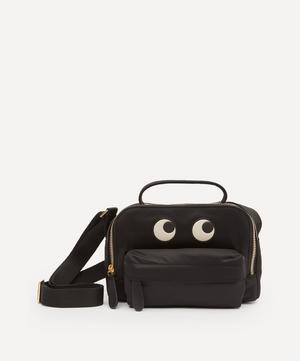 Eyes Recycled Nylon Cross-Body Pouch Bag