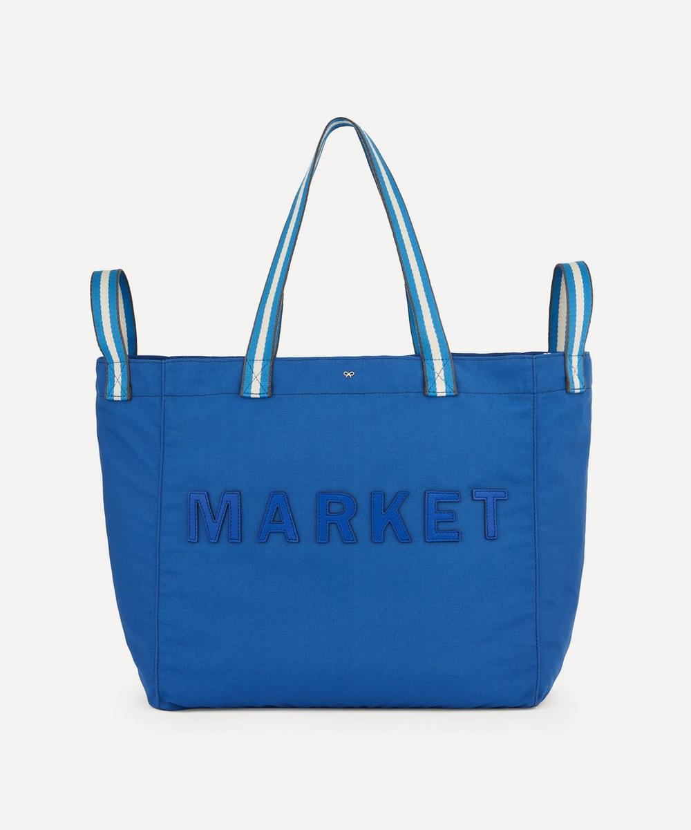 Anya Hindmarch - Market Household Recycled Canvas Tote Bag