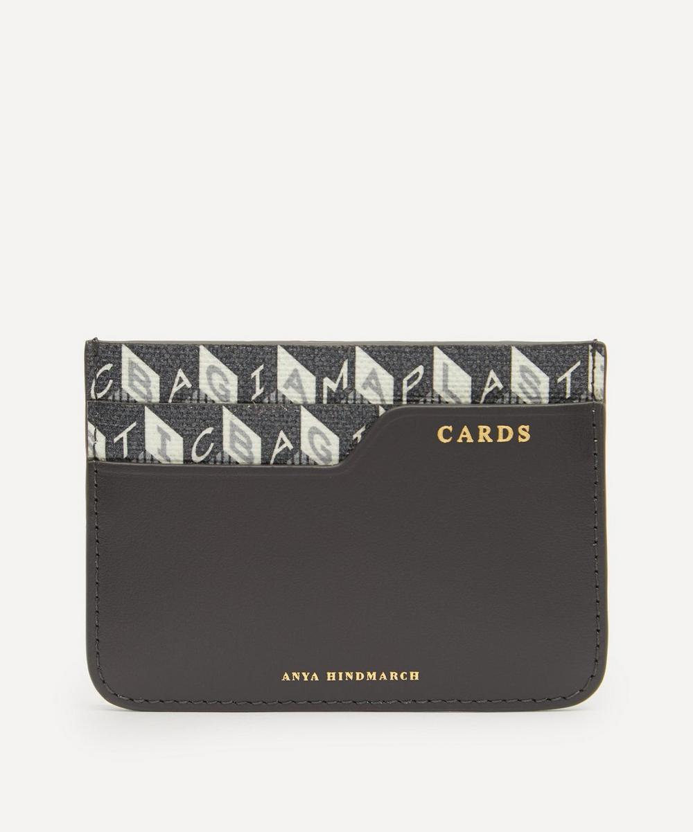 Anya Hindmarch - I Am A Plastic Bag Recycled Coated Canvas Card Case