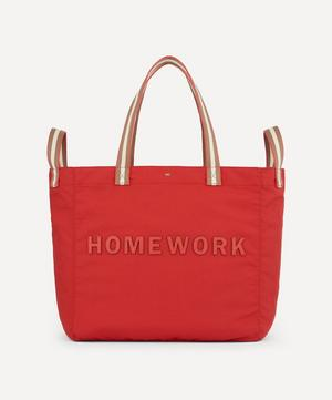 Homework Household Recycled Canvas Tote Bag