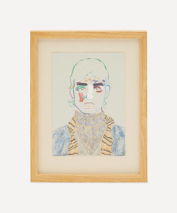 Robson Stannard - Boy in Prada 1 Original Framed Painting