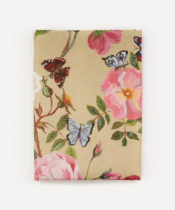 Avenida Home - Roses Large Linen Tablecloth
