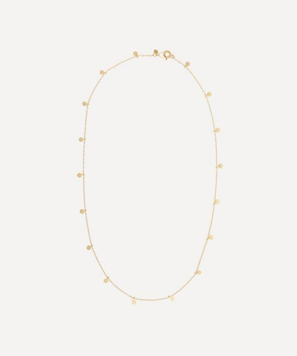 Sia Taylor - 18ct Gold Even Tiny Dots Necklace