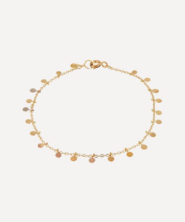 Sia Taylor - 18ct-24ct Rainbow Gold Even Tiny Dots Bracelet