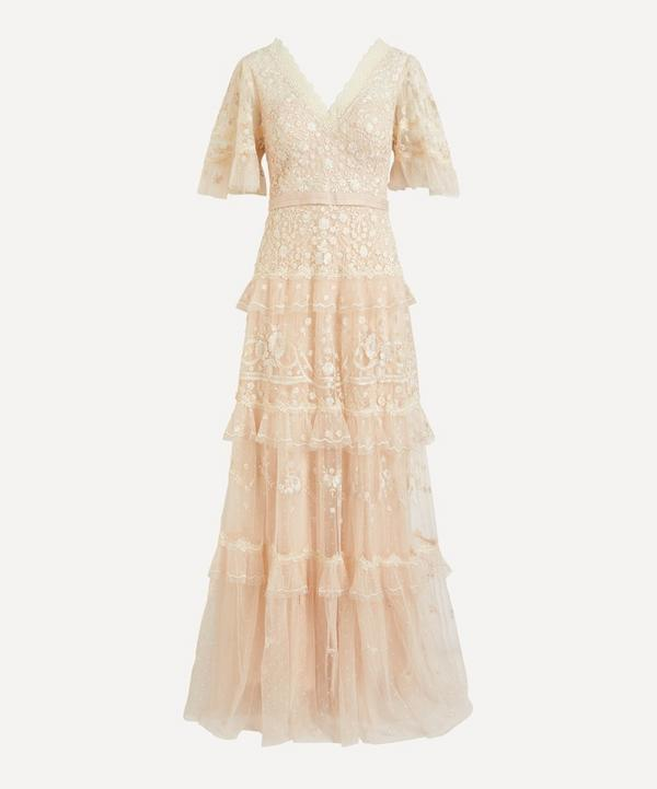 Needle & Thread - Francine V-Neck Gown