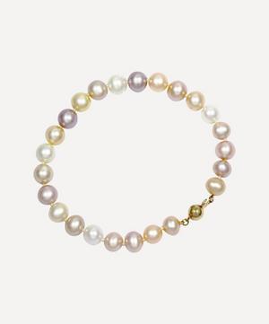 Multi-Coloured Freshwater Pearl Bracelet