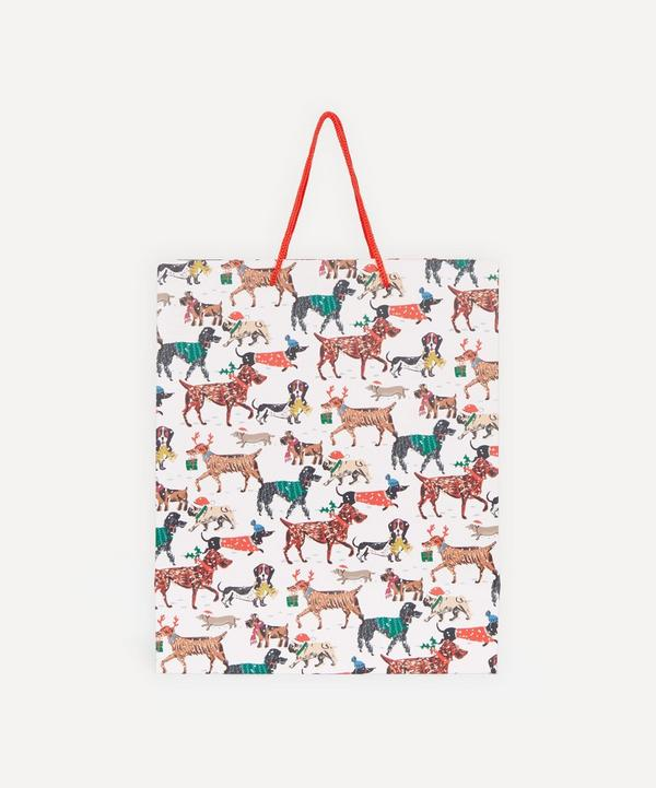 Unspecified - Winter Dogs Large Gift Bag