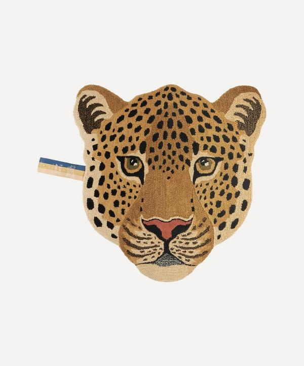 Doing Goods - Large Himani Leopard Head Rug