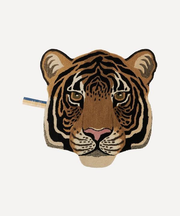 Doing Goods - Large Rajah Tiger Head Rug