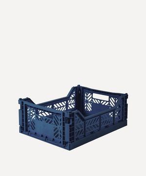 Midi Plastic Folding Crate