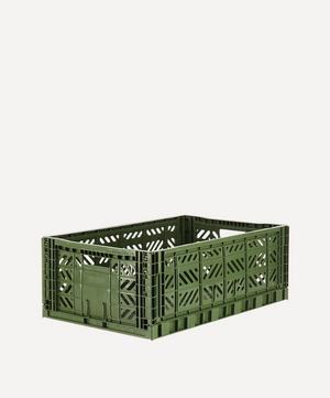 Maxi Plastic Folding Crate