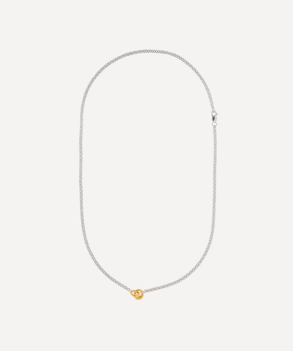 Otiumberg - Silver Link Up Chain Necklace