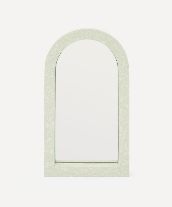 Katie Gillies - Pistachio Midi Arch Mirror