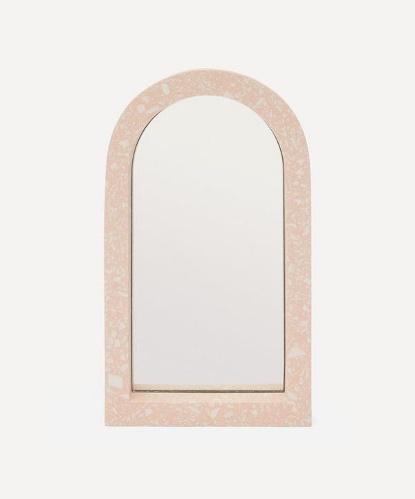 Katie Gillies - Peach Midi Arch Mirror