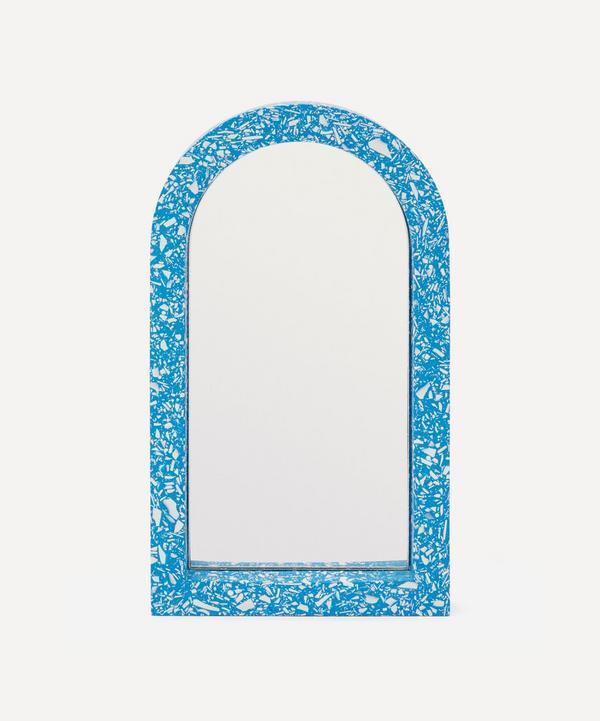 Katie Gillies - Cobalt Midi Arch Mirror