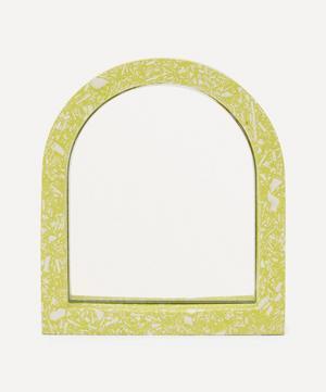 Lime Mini Arch Mirror