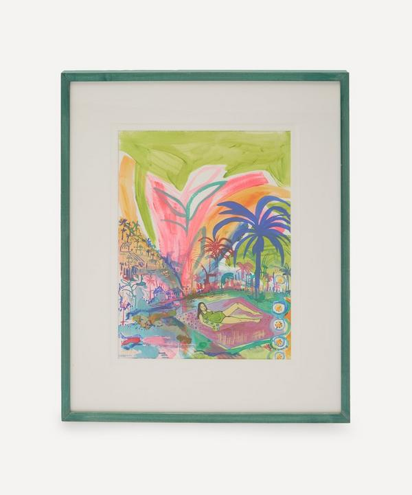 Grace Green - I Sit Still Everything Else Moves Original Framed Painting