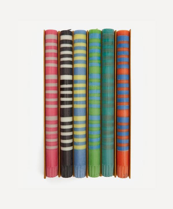 British Colour Standard - Eco Dinner Candles Set of Six