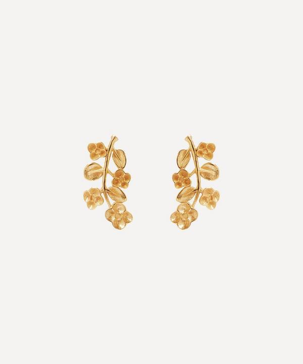 Liberty - 9ct Gold Blossom Stud Earrings