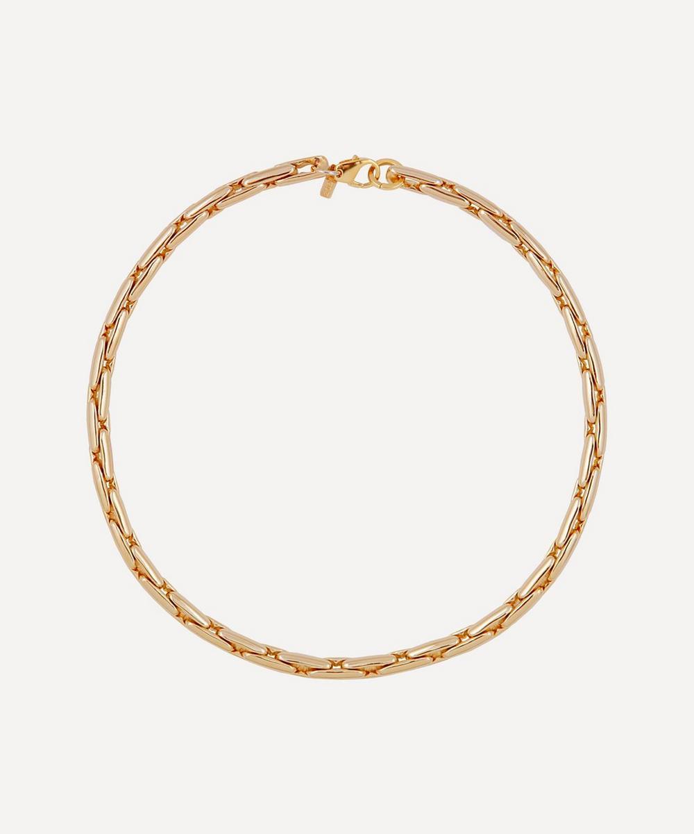 Martha Calvo - Gold-Plated Gilda Thick Chain Necklace