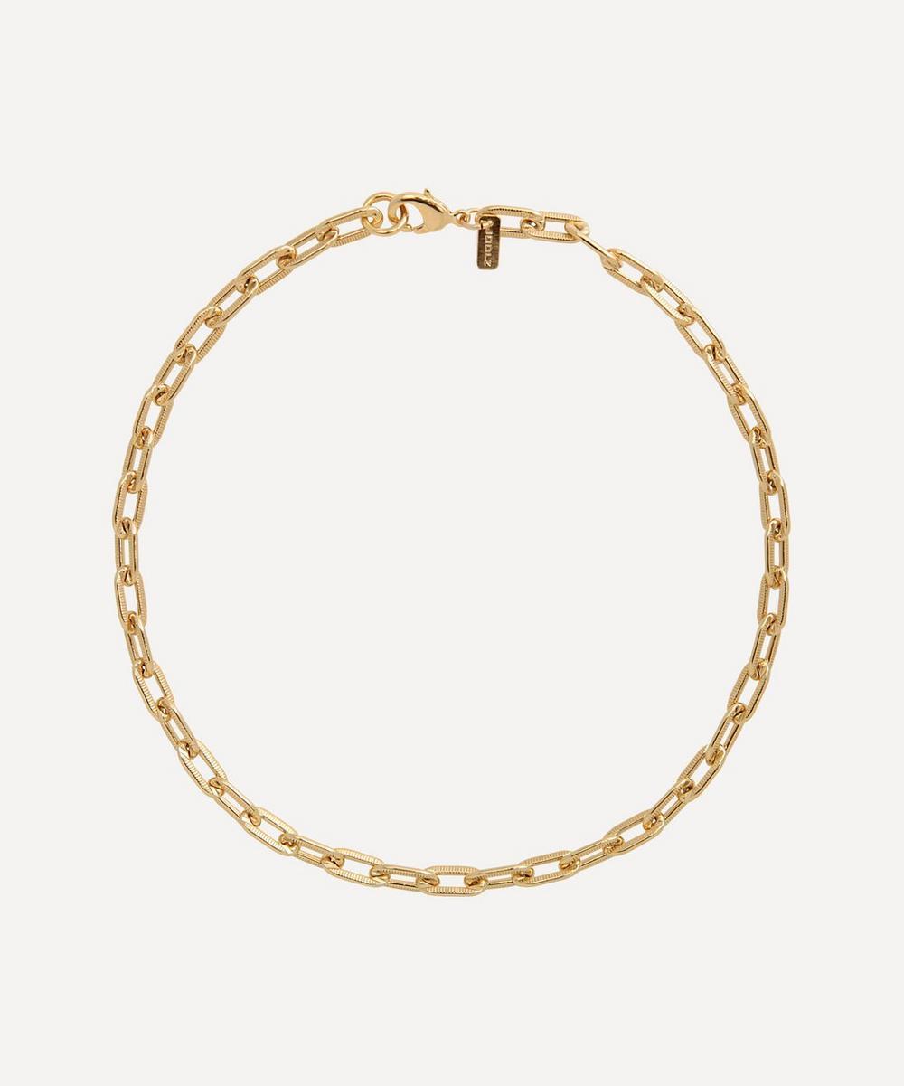 Martha Calvo - Gold-Plated Sofia Chain Necklace