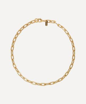 Gold-Plated Sofia Chain Necklace